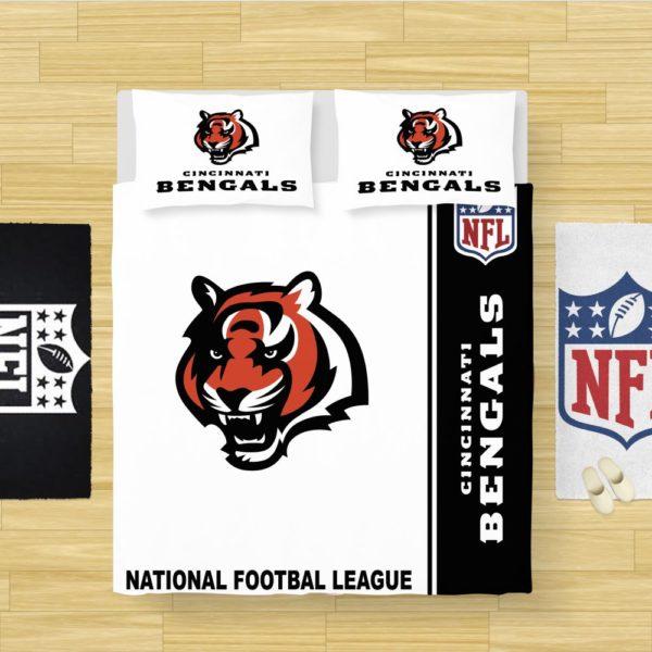 NFL Cincinnati Bengals Bedding Comforter Set
