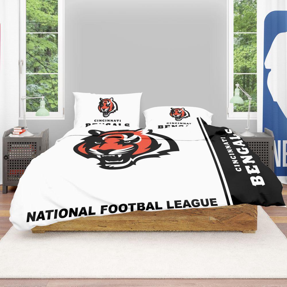 Buy Nfl Cincinnati Bengals Bedding Comforter Set Up To