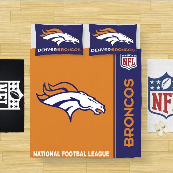NFL Denver Broncos Bedding Comforter Set