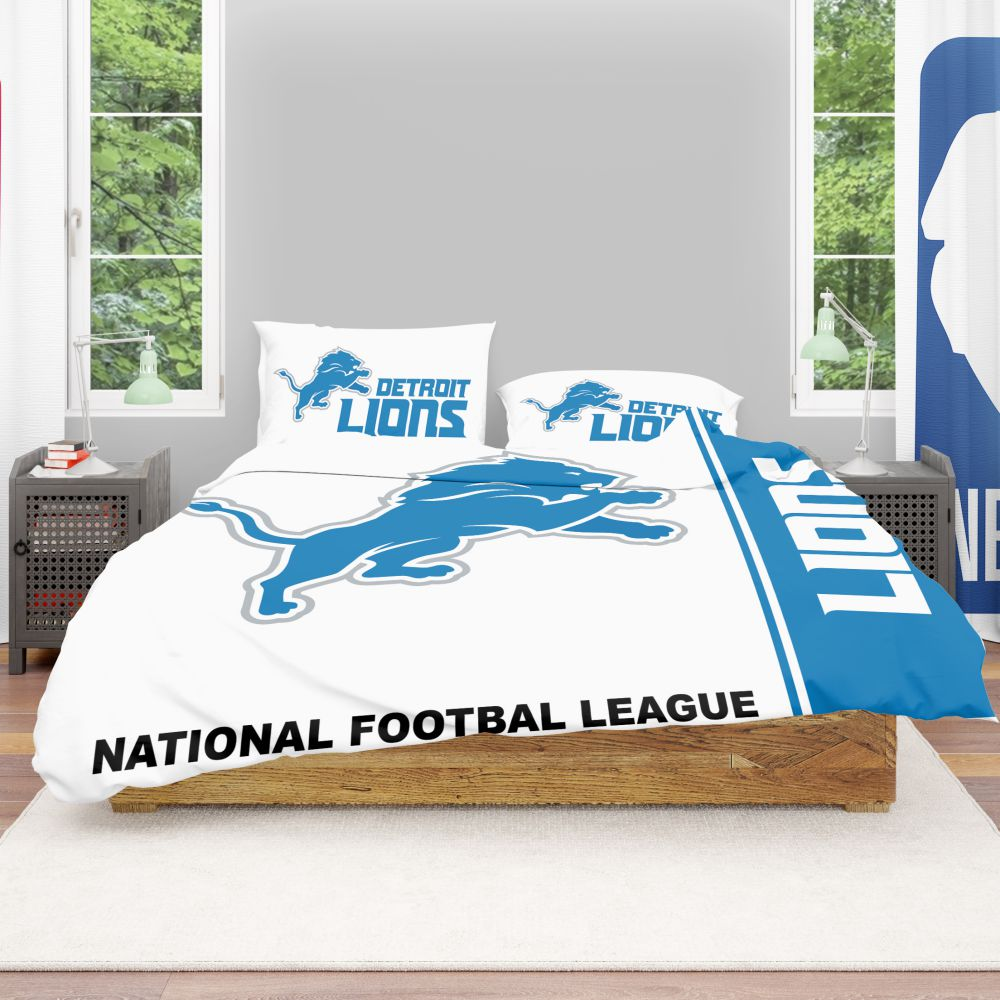NFL Detroit Lions Bedding Comforter Set