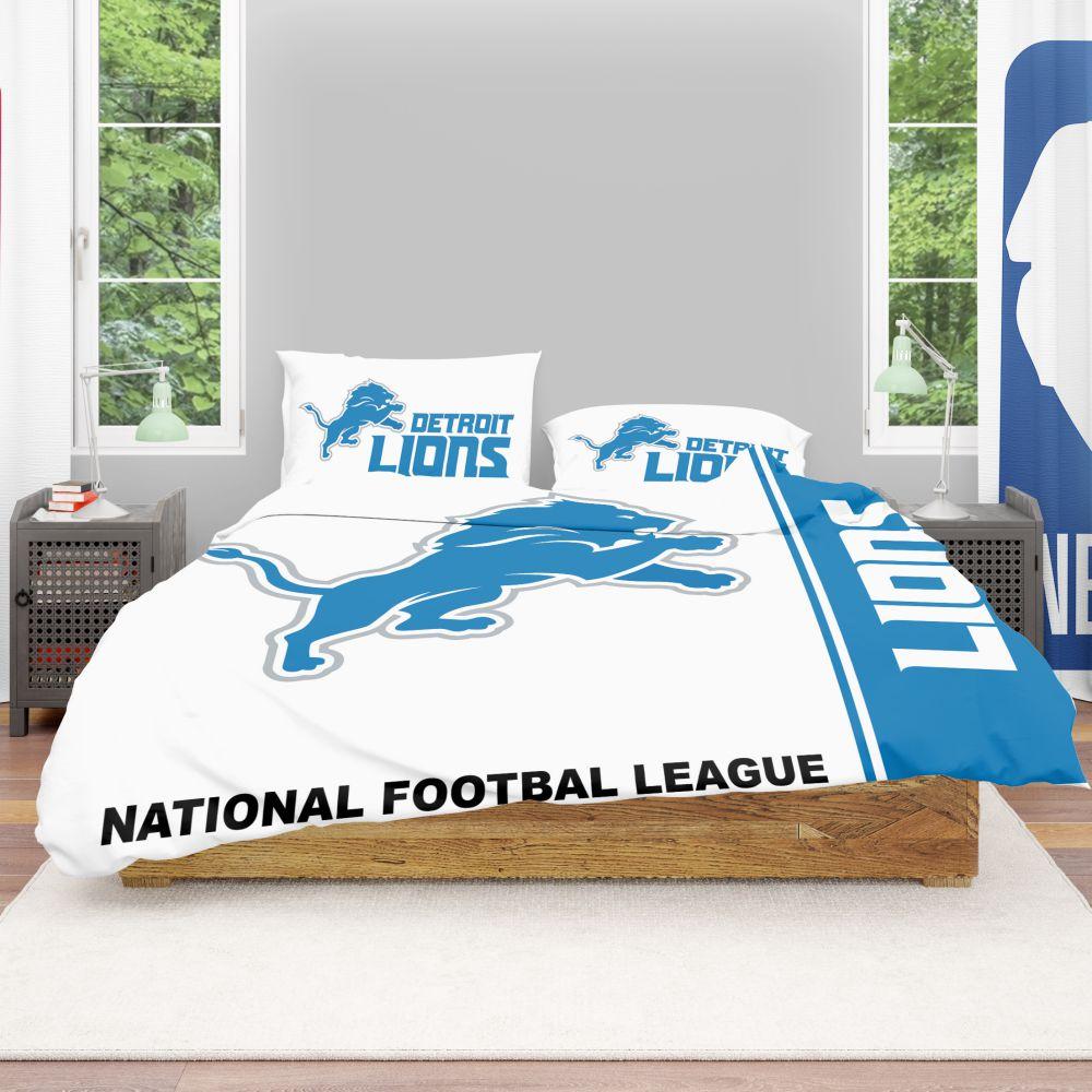 Buy Nfl Detroit Lions Bedding Comforter Set Up To 50 Off