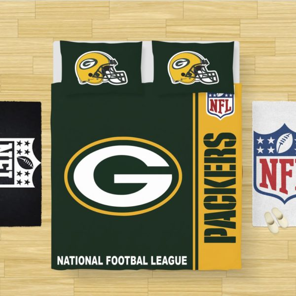 NFL Green Bay Packers Bedding Comforter Set