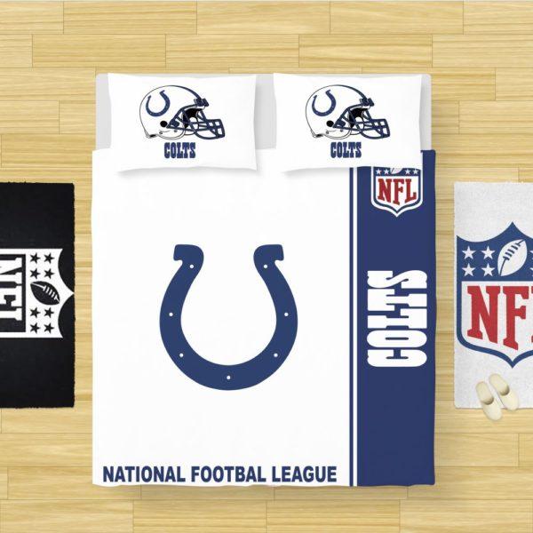 NFL Indianapolis Colts Bedding Comforter Set