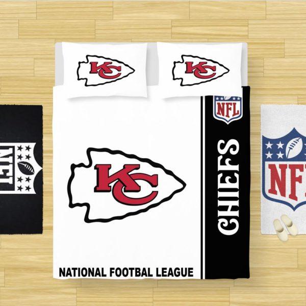 NFL Kansas City Chiefs Bedding Comforter Set