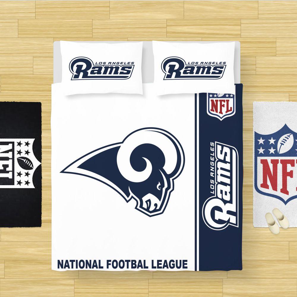 Buy Nfl Los Angeles Rams Bedding Comforter Set Up To 50 Off