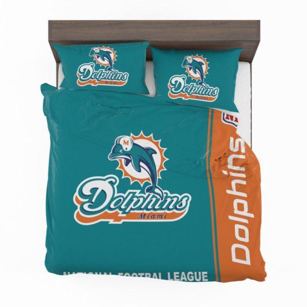NFL Miami Dolphins Bedding Comforter Set 4 2