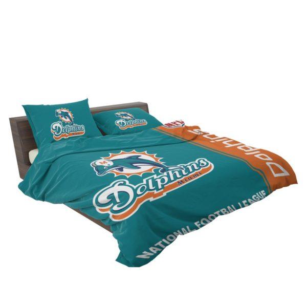 NFL Miami Dolphins Bedding Comforter Set 4 3
