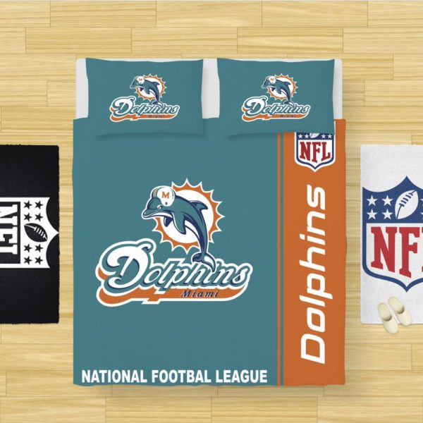 NFL Miami Dolphins Bedding Comforter Set