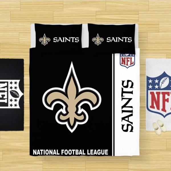 NFL New Orleans Saints Bedding Comforter Set