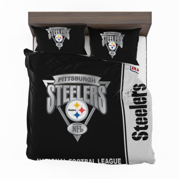 NFL Pittsburgh Steelers Bedding Comforter Set 4 2
