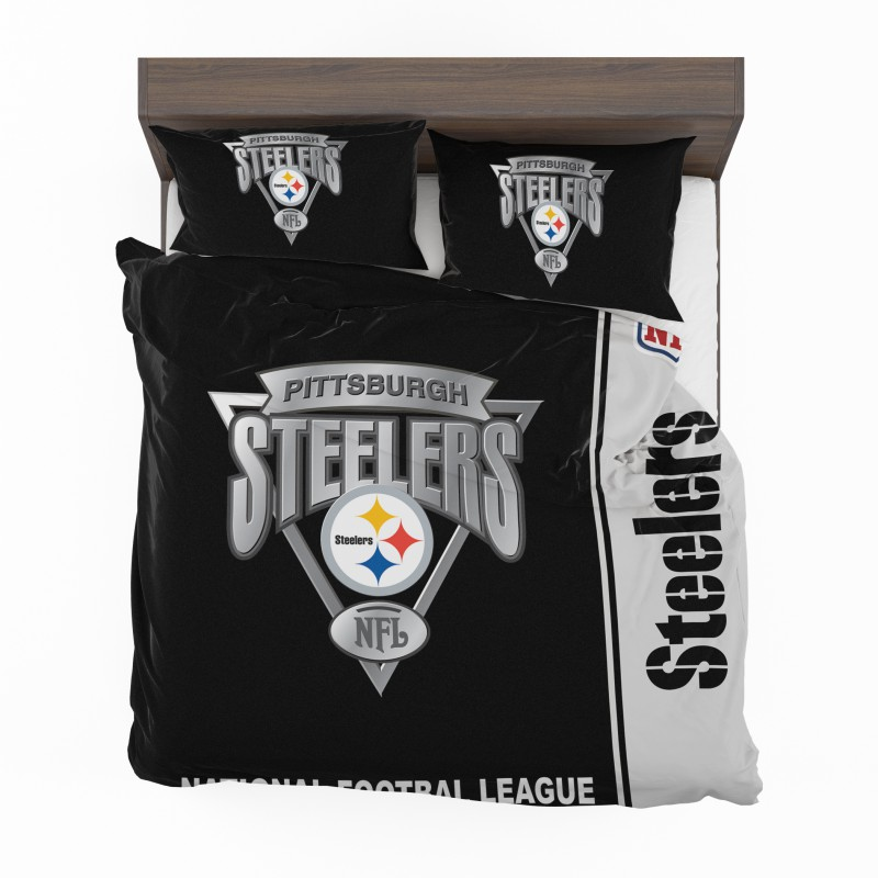 Buy Nfl Pittsburgh Steelers Bedding Comforter Set Up To