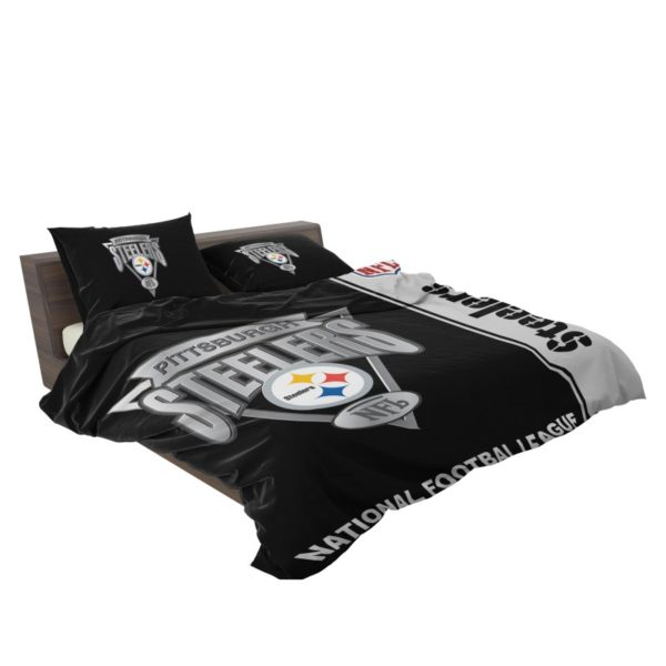 NFL Pittsburgh Steelers Bedding Comforter Set 4 3