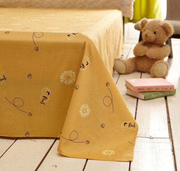 NavajoWhite Color Winnie Pooh Bedding Set 2 600x572 - Navajowhite Color Winnie Pooh Bedding Set