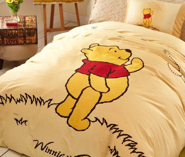 NavajoWhite Color Winnie Pooh Bedding Set 4 600x509 - Navajowhite Color Winnie Pooh Bedding Set