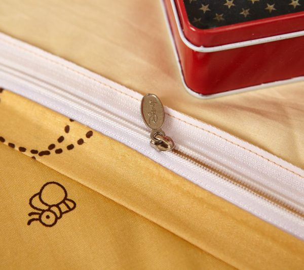 NavajoWhite Color Winnie Pooh Bedding Set 8 600x533 - Navajowhite Color Winnie Pooh Bedding Set