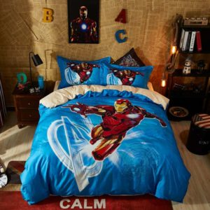 Nice Looking Captain America Bedding Set