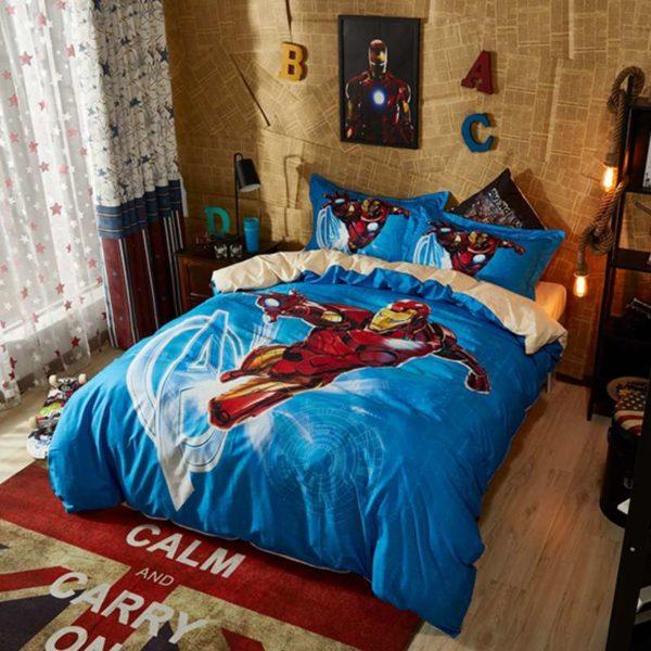 Nice Looking Captain America Bedding Set