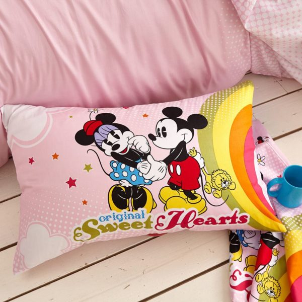 Original Sweet Hearts Mickey Minnie Bedding Set 5 600x600 - Original Sweet Hearts Mickey & Minnie Bedding Set