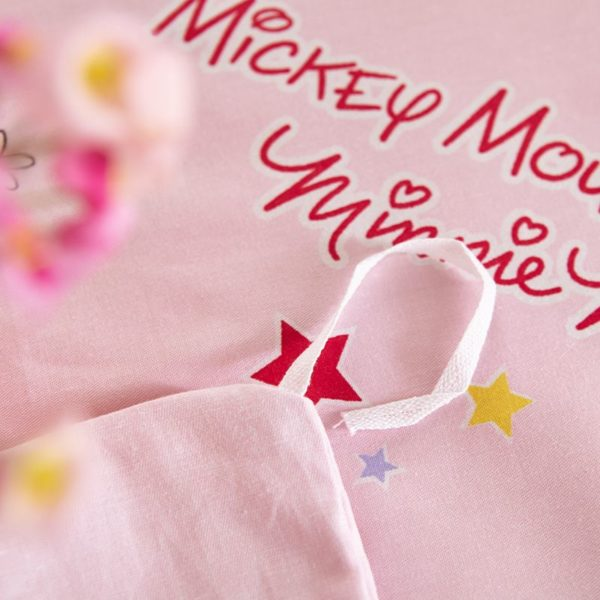 Original Sweet Hearts Mickey Minnie Bedding Set 7 600x600 - Original Sweet Hearts Mickey & Minnie Bedding Set