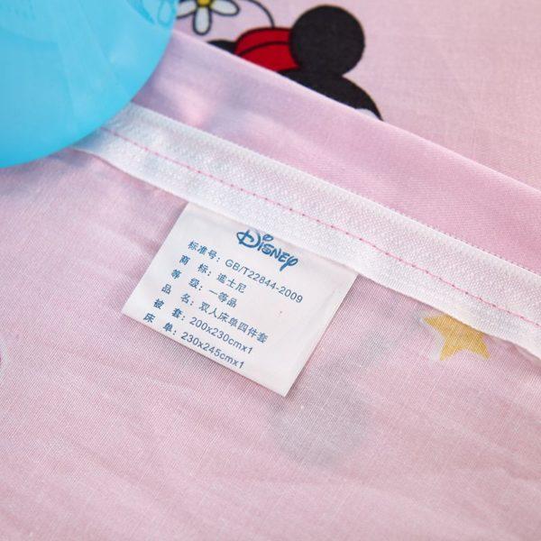 Original Sweet Hearts Mickey Minnie Bedding Set 8 600x600 - Original Sweet Hearts Mickey & Minnie Bedding Set