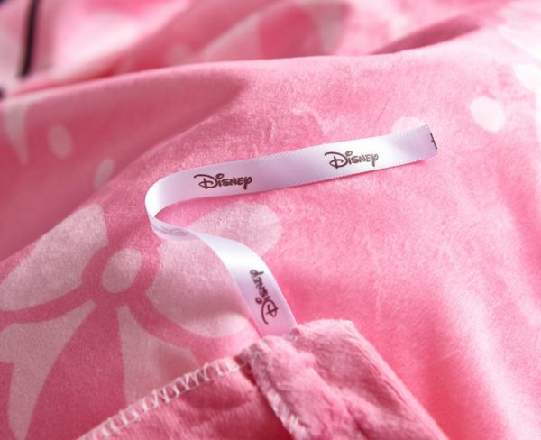 Pink Disney Minnie Mouse Teen Bedding Set