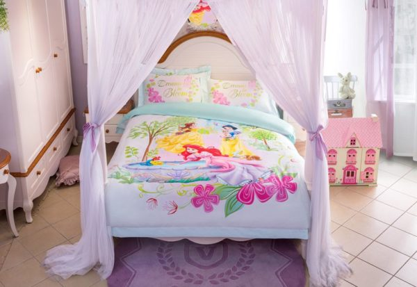 Princess Garden Dreams in Bloom Bedding Set 12