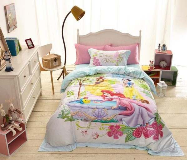 Princess Garden Dreams in Bloom Bedding Set 2