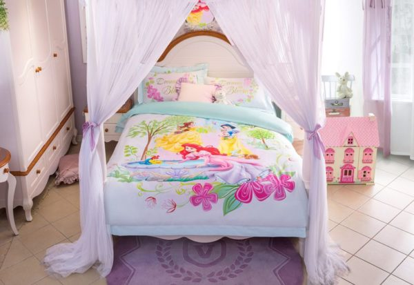 Princess Garden Dreams in Bloom Bedding Set 9