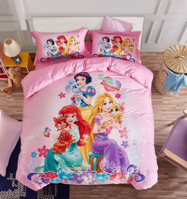 Princess bed comforter sets for girls 1 600x639 - Princess Bed Comforter Sets for Girls