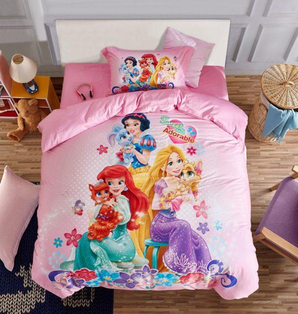 Princess bed comforter sets for girls 2 600x632 - Princess Bed Comforter Sets for Girls
