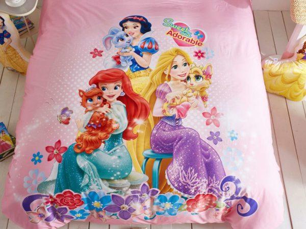 Princess bed comforter sets for girls 3 600x449 - Princess Bed Comforter Sets for Girls