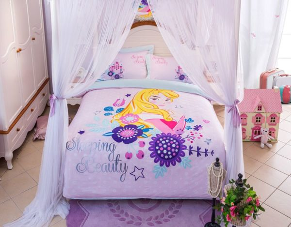 Sleeping Beauty Princess Aurora Bedding Set (2)