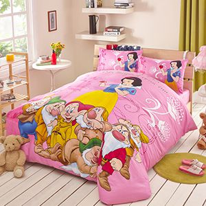 Snow White and the Seven Dwarfs Movie Themed Bedding Sets Curtains Rugs and Home Decor