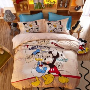 Special Birthday Gift Disney Mickey Bedding Set