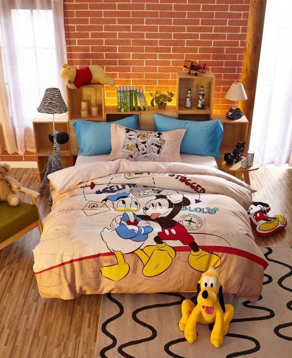 Special Birthday Gift Disney Mickey Bedding Set 10 600x737 - Special Birthday Gift Disney Mickey Bedding Set