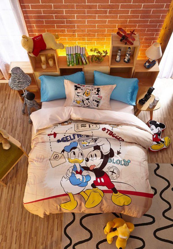 Special Birthday Gift Disney Mickey Bedding Set 11 600x863 - Special Birthday Gift Disney Mickey Bedding Set