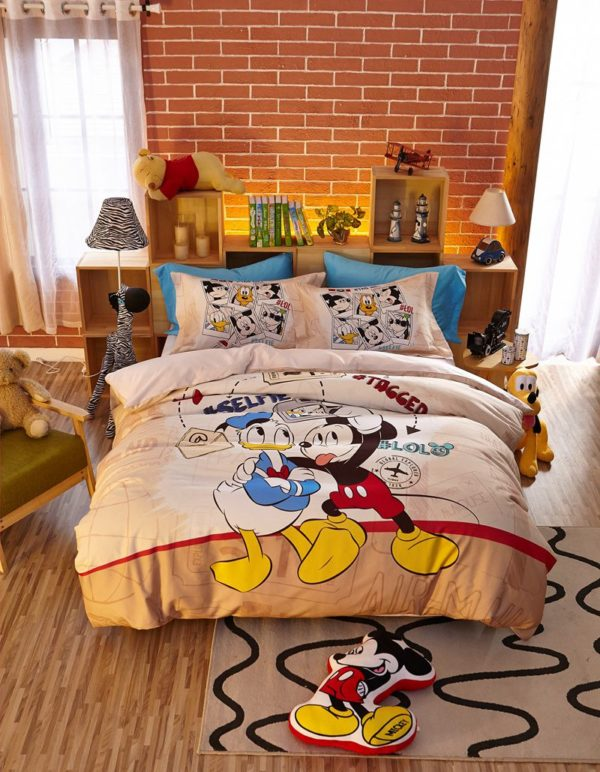 Special Birthday Gift Disney Mickey Bedding Set 8 600x772 - Special Birthday Gift Disney Mickey Bedding Set