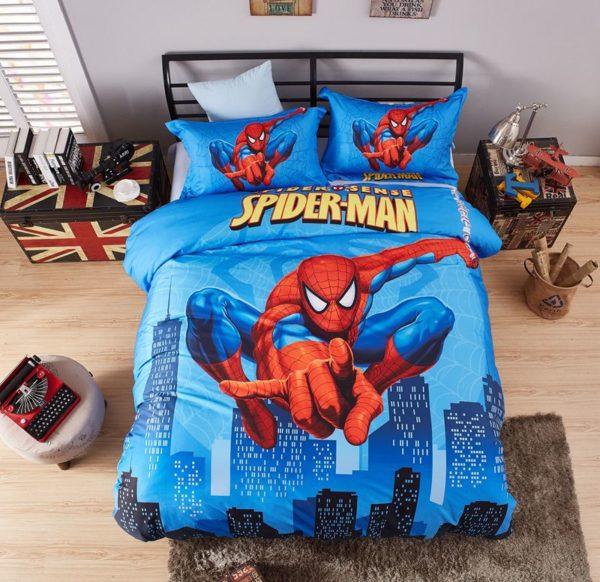 Spider Sense Spider Man Bedding Set MAV 0223 1 600x582 - Spider Sense Spider-Man Bedding Set Mav-0223