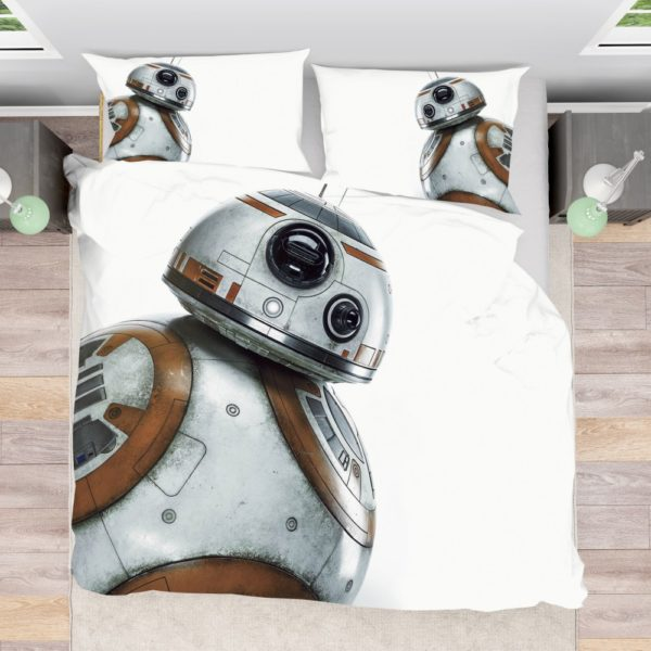 Star Wars Force Awakens Sci-Fi Disney Action Futuristic Bedding Set