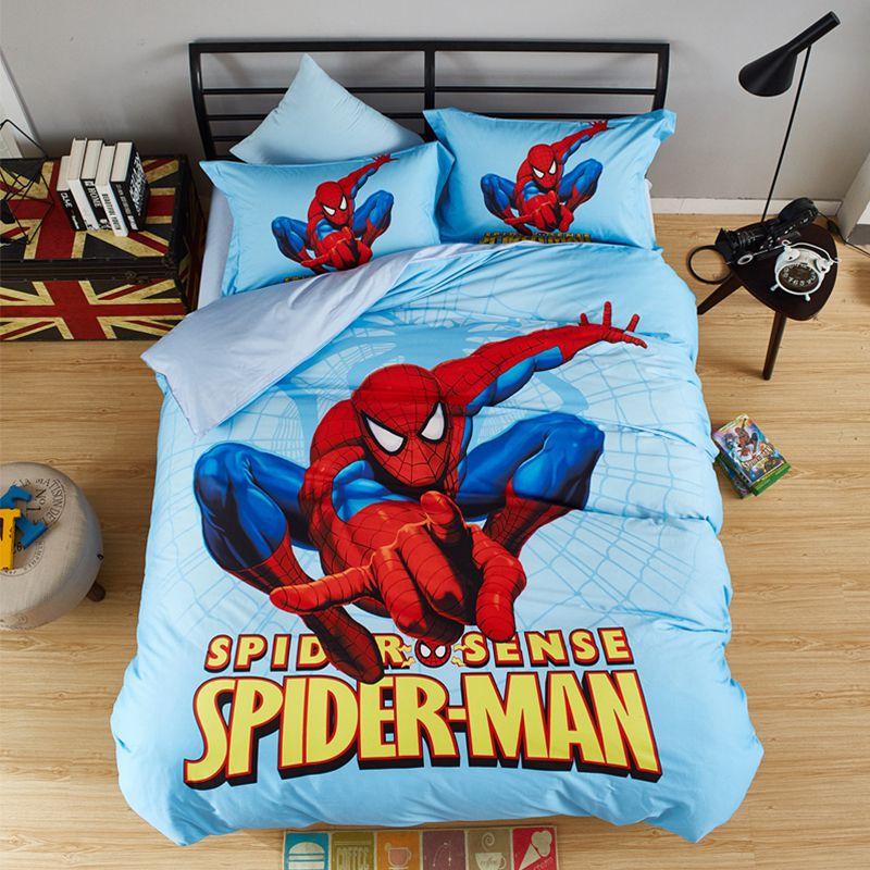 Stunning Spider Sense Spiderman Bedding Set Ebeddingsets