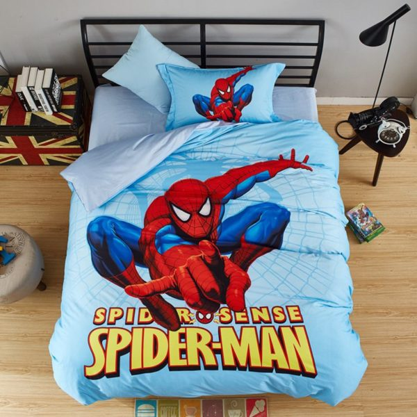 Stunning Spider Sense Spiderman Bedding Set 9 600x600 - Stunning Spider Sense Spiderman Bedding Set