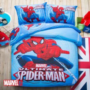 Super Hero Themed Spider Man Bedding Set