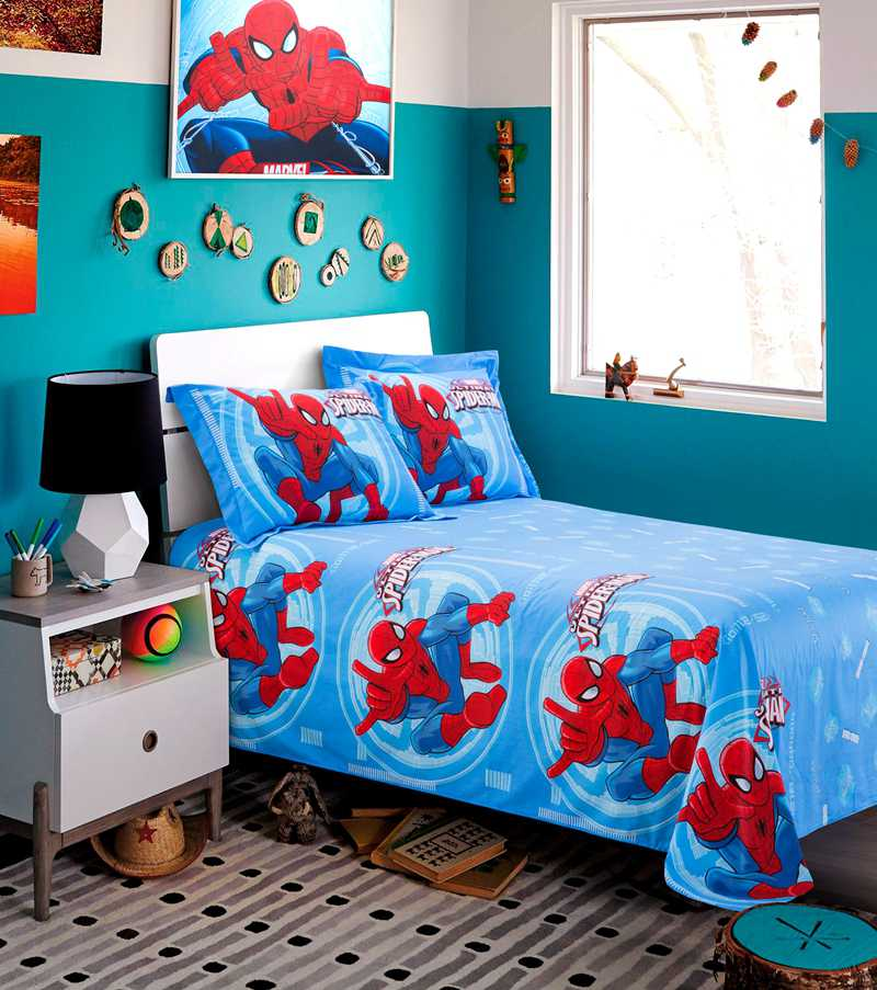 Super Hero Themed Spider Man Bedding Set Ebeddingsets