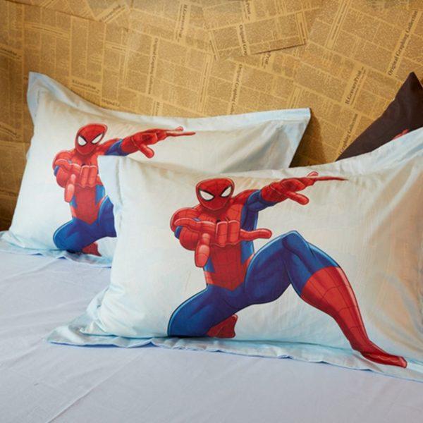 Team Heroes Spider Man Kids Bedding Set