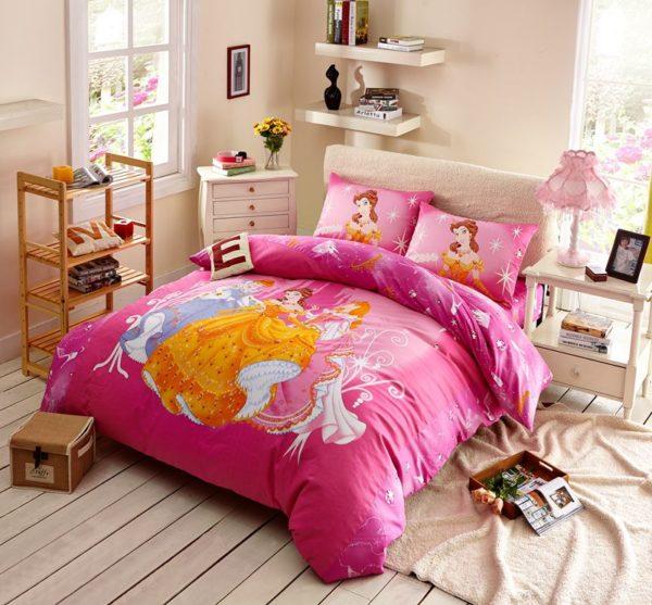 Teen Girls Disney Princess Bedding Set 1 600x557 - Teen Girls Disney Princess Bedding Set