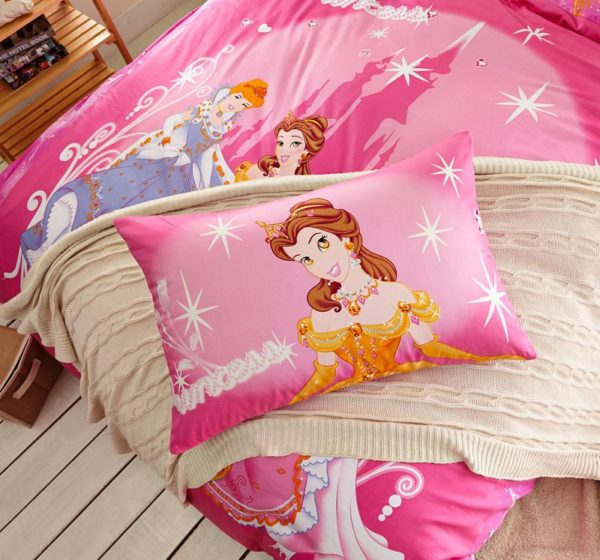 Teen Girls Disney Princess Bedding Set 4 600x560 - Teen Girls Disney Princess Bedding Set