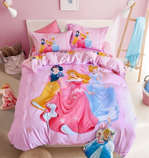 Teen Girls Polyester Bedding Set 9