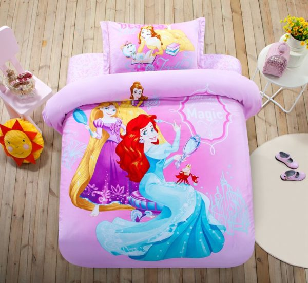Teen Girls Princess Comforter Set Twin Queen Size 1 600x551 - Teen Girls Princess Comforter Set Twin Queen Size
