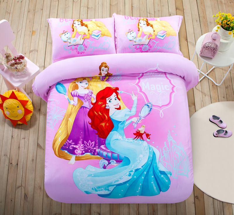 Teen Girls Princess Comforter Set Twin, Queen Size Teenage Bedding