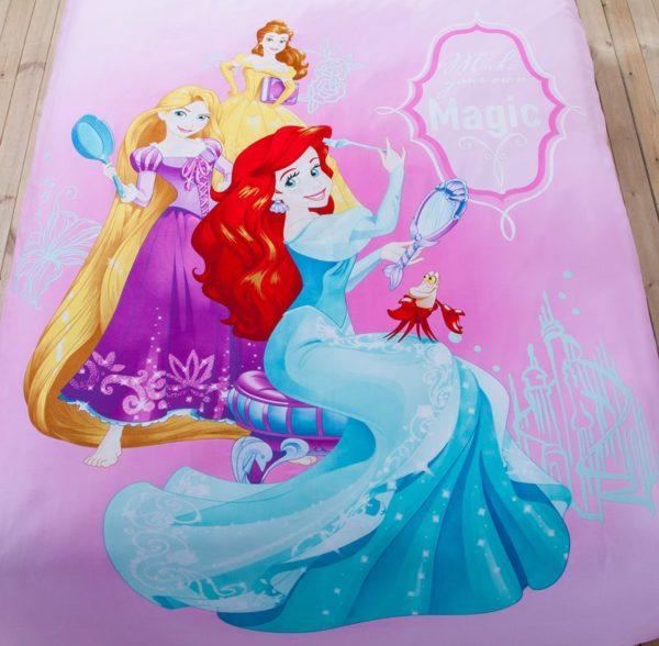 Teen Girls Princess Comforter Set Twin Queen Size 4